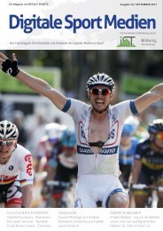 Digitale Sport Medien September - Result-Sports