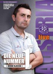 dIE NEUE NUmmER - FK Austria Wien