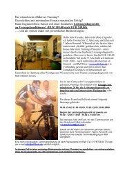 Du wünscht ein effektives Training - Helmuts-Fahrrad-Seiten