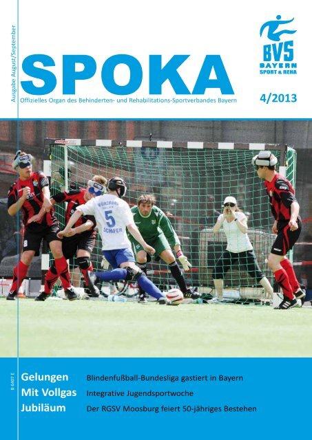 Spoka 4/2013 - Behinderten- und Versehrten-Sportverband Bayern ...