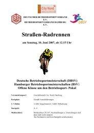 Straßen-Radrennen - Helmuts-Fahrrad-Seiten