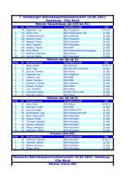 7. Hamburger Betriebssportmeisterschaft 2007 - Helmuts-Fahrrad ...