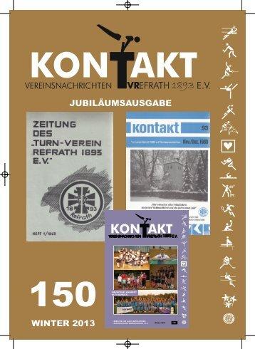 Zur Kontakt Heft 2/2013 - TV Refrath