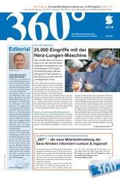 editorial - Sana Kliniken AG