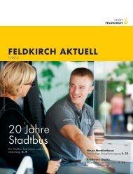 20 Jahre Stadtbus - Feldkirch