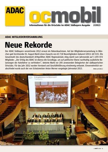 Ausgabe 2/2013 - ADAC