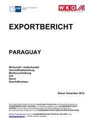 Exportbericht Paraguay - Aussenwirtschaftsportal Bayern