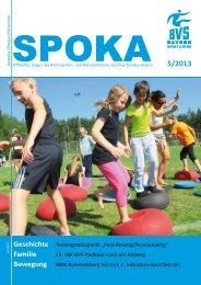 Spoka 5/2013 - Behinderten- und Versehrten-Sportverband Bayern ...