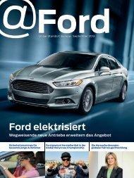Ford elektrisiert - Ford Online