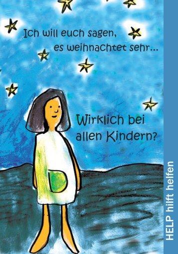 sehen Sie den Flyer zur Aktion Sterntaler - Help Deutschland