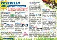 FESTIVALS 2013 - Flashtimer.de