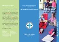 Flyer Zahlenland - Help Deutschland
