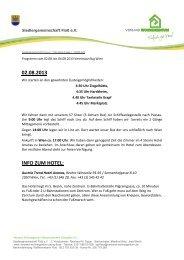 Programm Wien 2013.pdf - Verband Wohneigentum