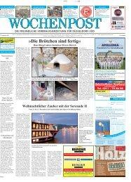 Duesseldorf-Sued 38-13 - Wochenpost