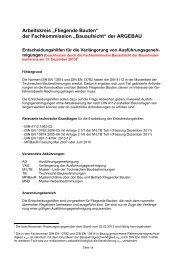 Musterentscheidungshilfen Stand: Dezember 2013