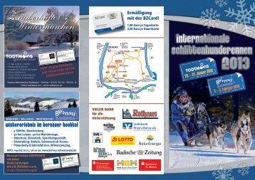 Flyer Schlittenhunderennen Bernau 2013 Download (PDF, ca. 2332 ...