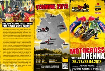 Flyer - ADAC MX Masters