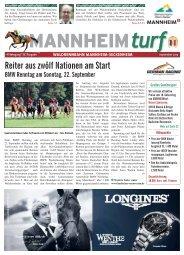 Rennbahnzeitung Mannheimturf Ausgabe September2013 zum ...