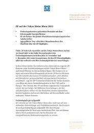 Pressetext herunterladen (PDF, 338 KB) - ZF Friedrichshafen AG