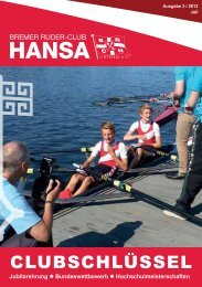 Ausgabe 3/13 - Bremer Ruder-Club HANSA