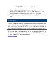 Complete market performance PDF - BM&FBovespa