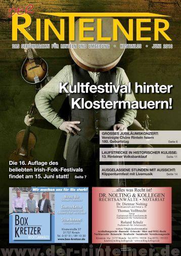 Kultfestival hinter Klostermauern! - Rinteln