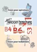 Cours pour opérateurs Jetbroom - Boschung - Page 4