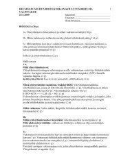 Biologian ja matematiikan tehtävät (pdf) - Helsinki.fi