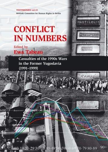 Conflict in Numbers: Casualties of the 1990s Wars - Helsinki ...