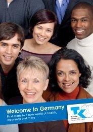 Welcome to Germany - Techniker Krankenkasse
