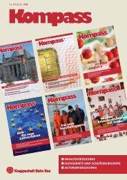 Jahresinhaltsverzeichnis 2013 (PDF/2 MB) - Knappschaft-Bahn-See