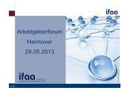 Folien Forum Arbeitswissenschaft, Dr. Frank Lennings - ADK