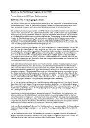 1 Bewertung des Koalitionsvertrages durch den DIHK ... - AHK Korea