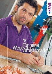 Geschäftsbericht 2012 - FAB
