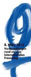 8. März 2013 - Zentralstelle für die Verwirklichung der ...