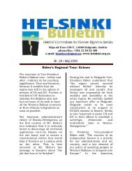 Echoes - Helsinki Committee for Human Rights in Serbia