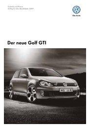 Der neue Golf GTI - Tauwald Automobile