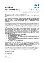 20. 20081201_Bekanntmachung_Aufstellung_30Ic.pdf - Hemer