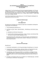 Vergnügungssteuersatzung Stadt Hemer 01 01 2011