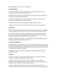 Generelle betingelser for salg, service og levering - Hempel