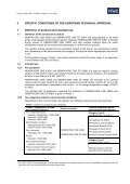 European Technical Approval Technical Approval ETA 12 ... - Hempel - Page 3