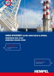 uHSS-SyStemet (ultra HigH Solid & Speed) - Hempel