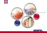 Hempel Annual Report 2011