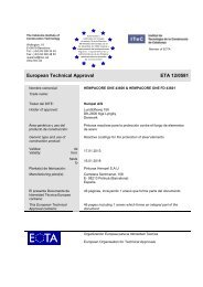 European Technical Approval Technical Approval ETA 12 ... - Hempel