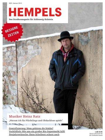 Musiker Heinz Ratz - Hempels