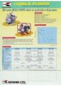 Mobile Koshin Wasserpumpen mit Hatz, Yanmar, Robin Dieselmotor - Seite 2