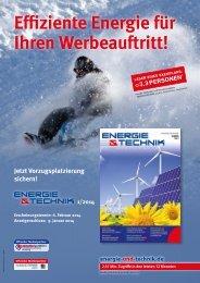 Weitere Informationen (PDF) - Energie & Technik