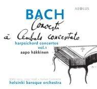 helsinki baroque orchestra aapo häkkinen harpsichord ... - eClassical