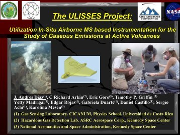 The ULISSES Project: Utilization In-Situ Airborne MS based ...
