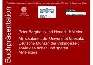 Buchvorstellung - Hendrik Mäkeler